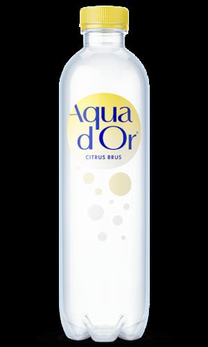 AQUADOR Naturligt Mineralvand med Blid Brus og Citrus.
